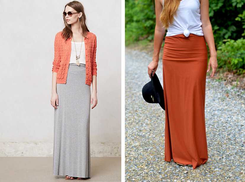 Maxi Skirt via Fine and Feathered