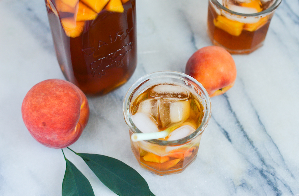 Honey Peach Tea