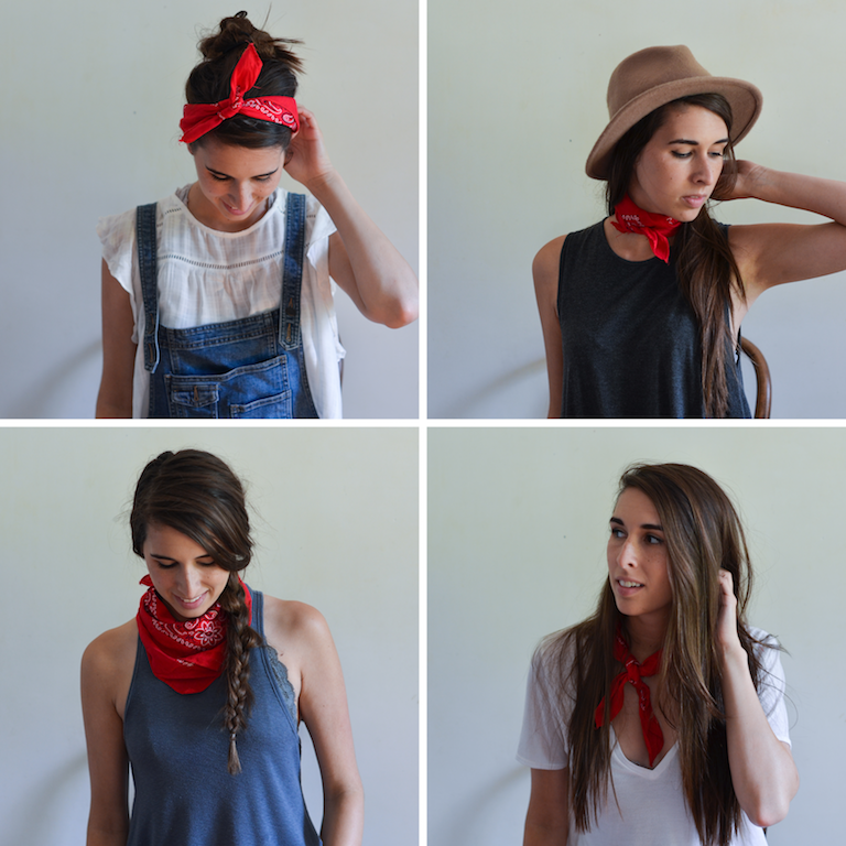 How to Style a Bandana