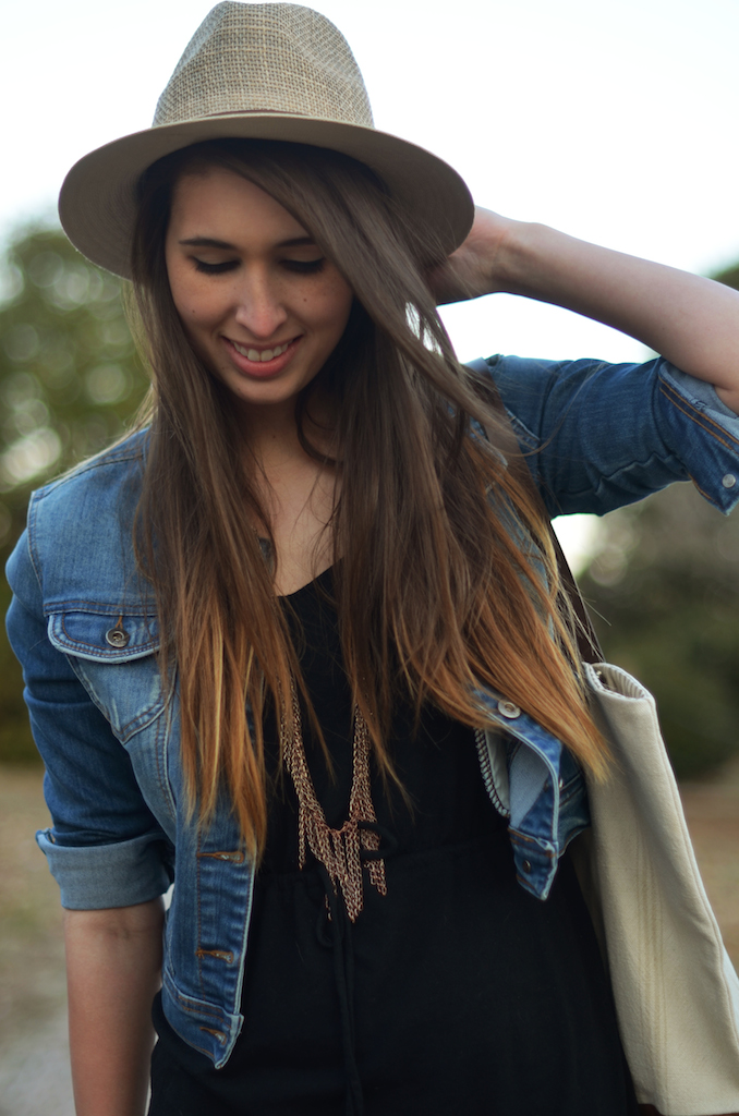 Spring Denim outfit