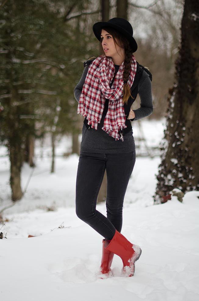 Easy Winter Snow Style
