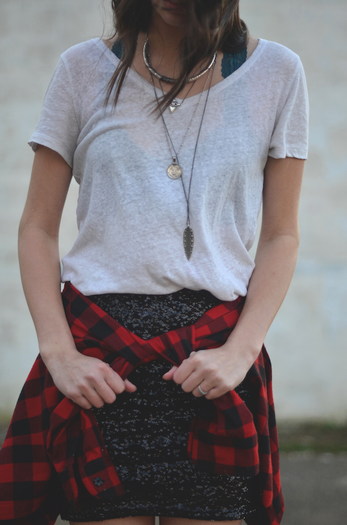 Flannel with Skirt