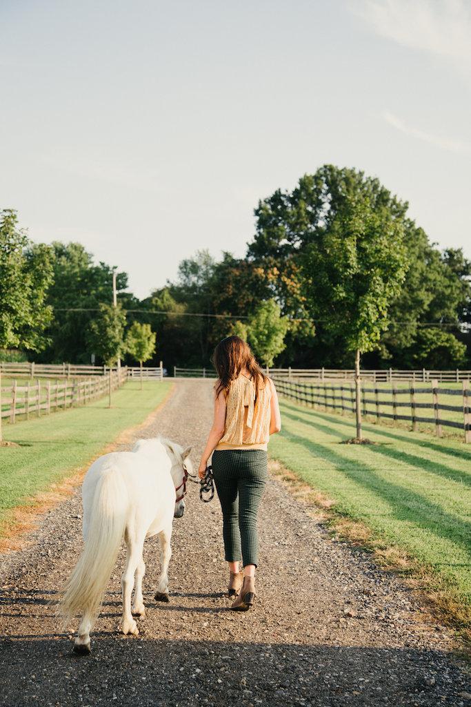 Free People Horse Photoshoot