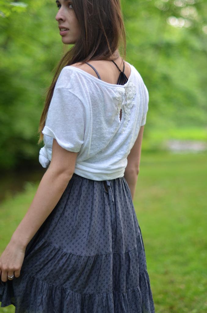 Strappy Back Bra Dress Styling