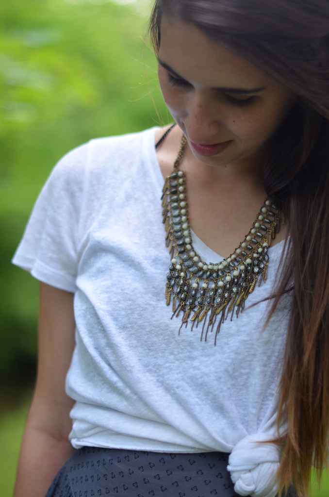 Free People Necklace Styling