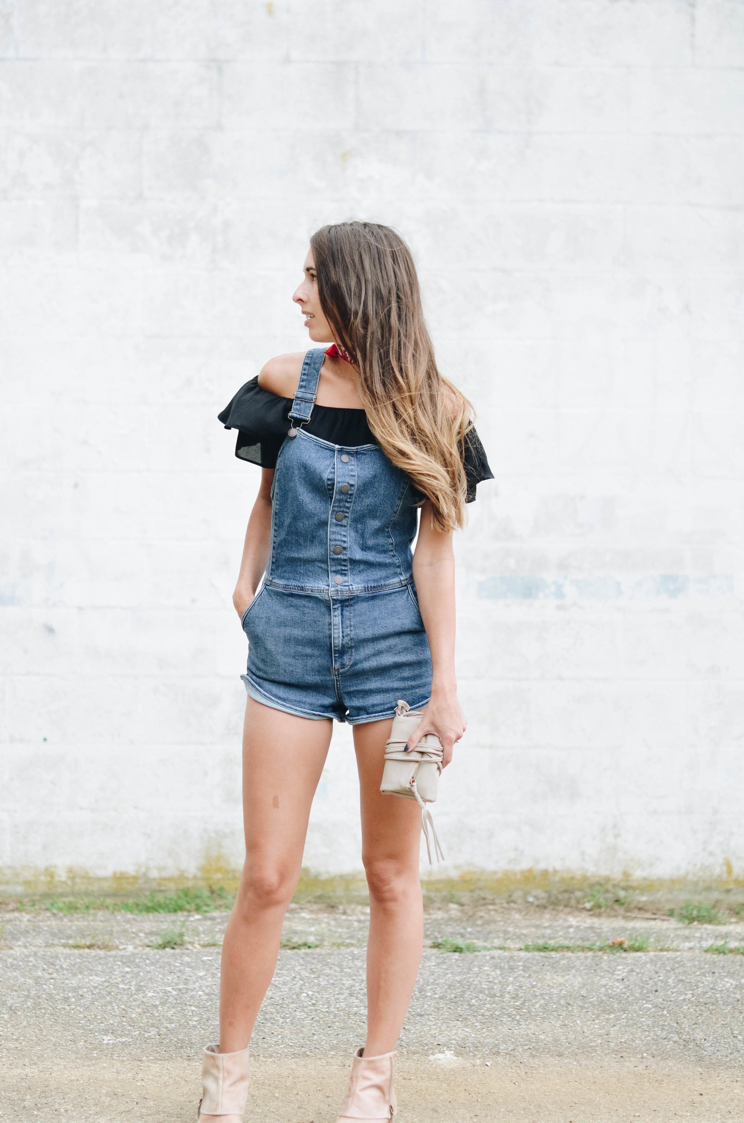 Shortalls Summer Style Outfit