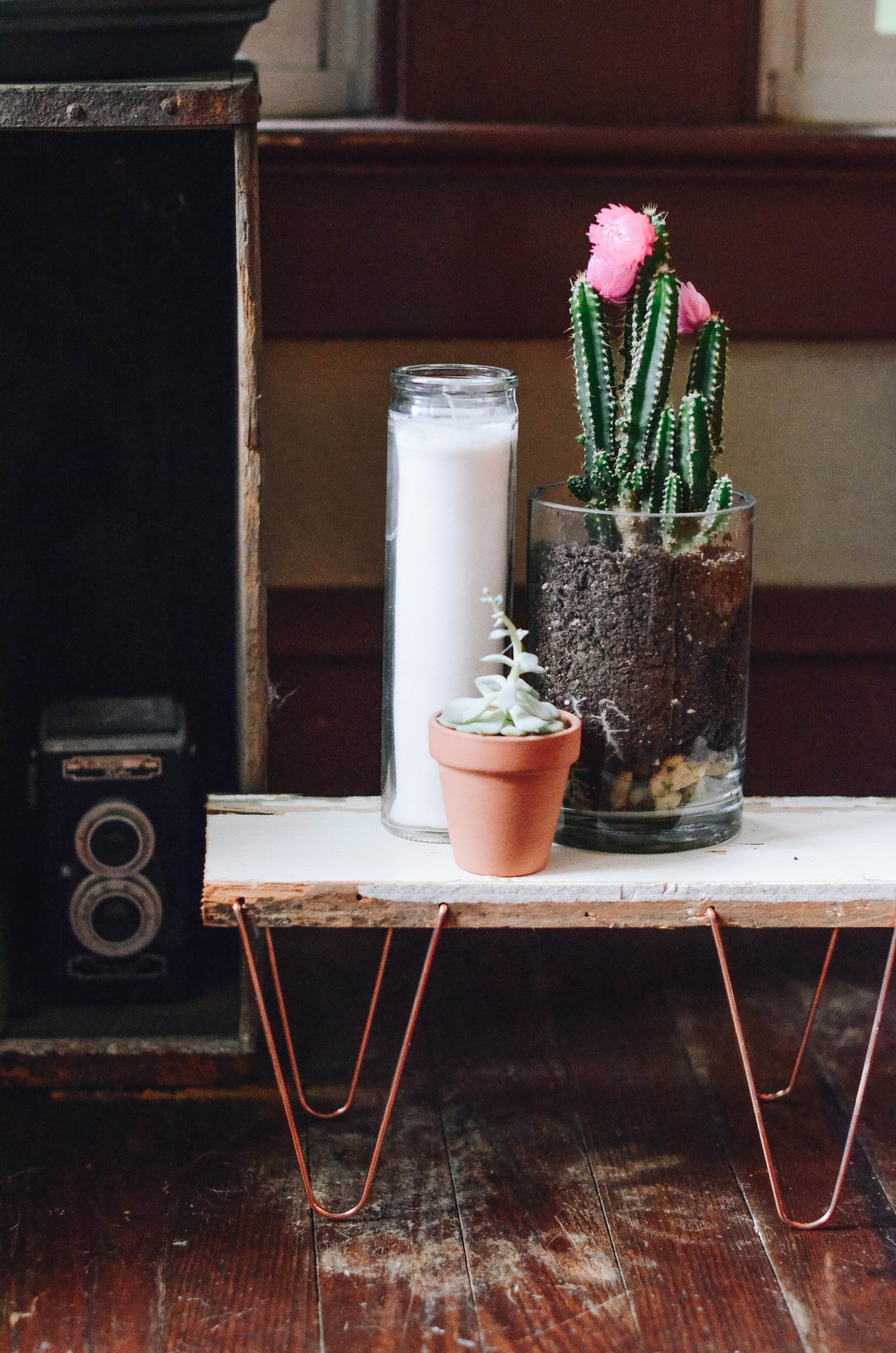 Mini Hairpin Leg Plant Stand