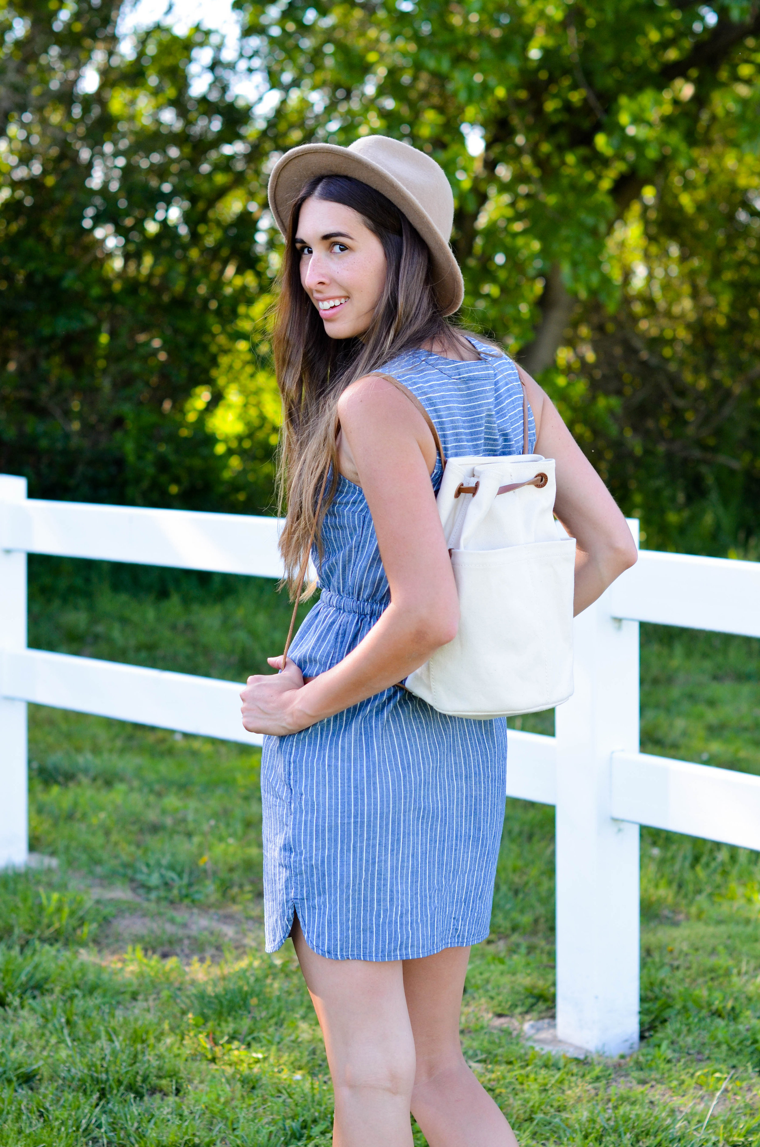 Fine and Feathered - Summer Style Striped Dress