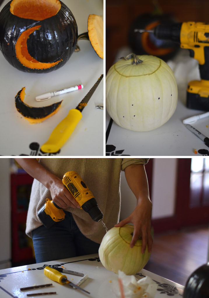 Fine and Feathered - Constellation Pumpkin Carving
