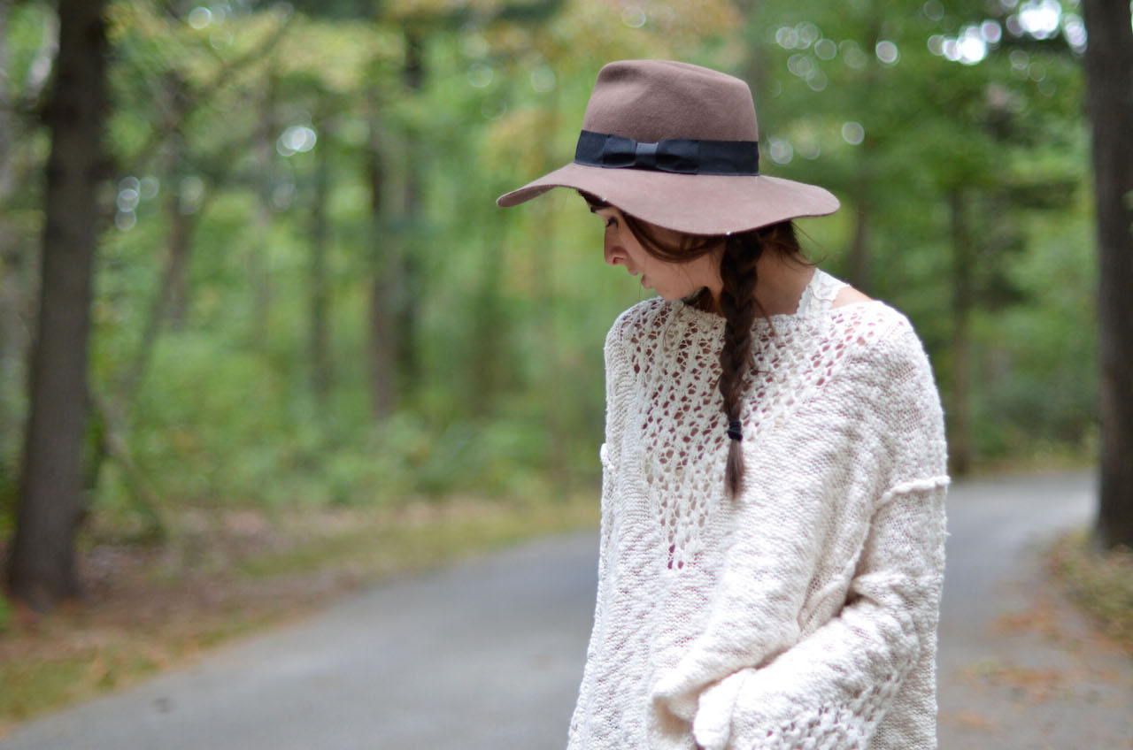 Fine and Feathered - Oversized Sweater Style