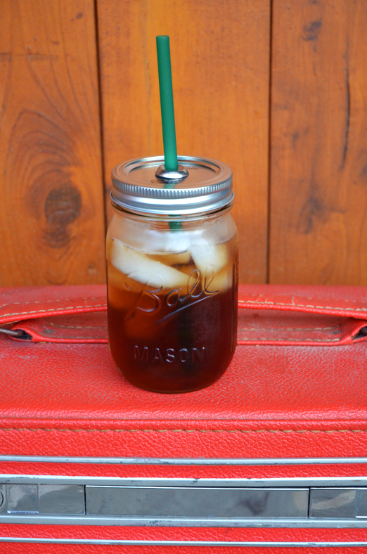 Fine and Feathered - Mason Jar To-Go Cup