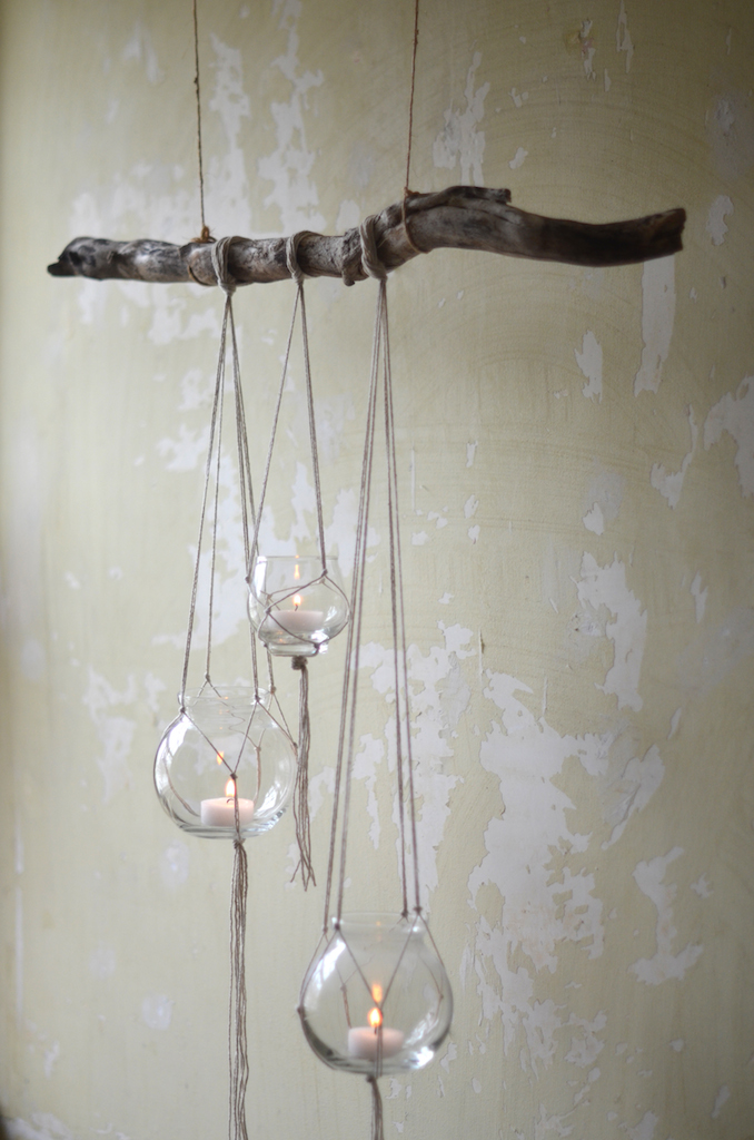 Rustic Candle Branch