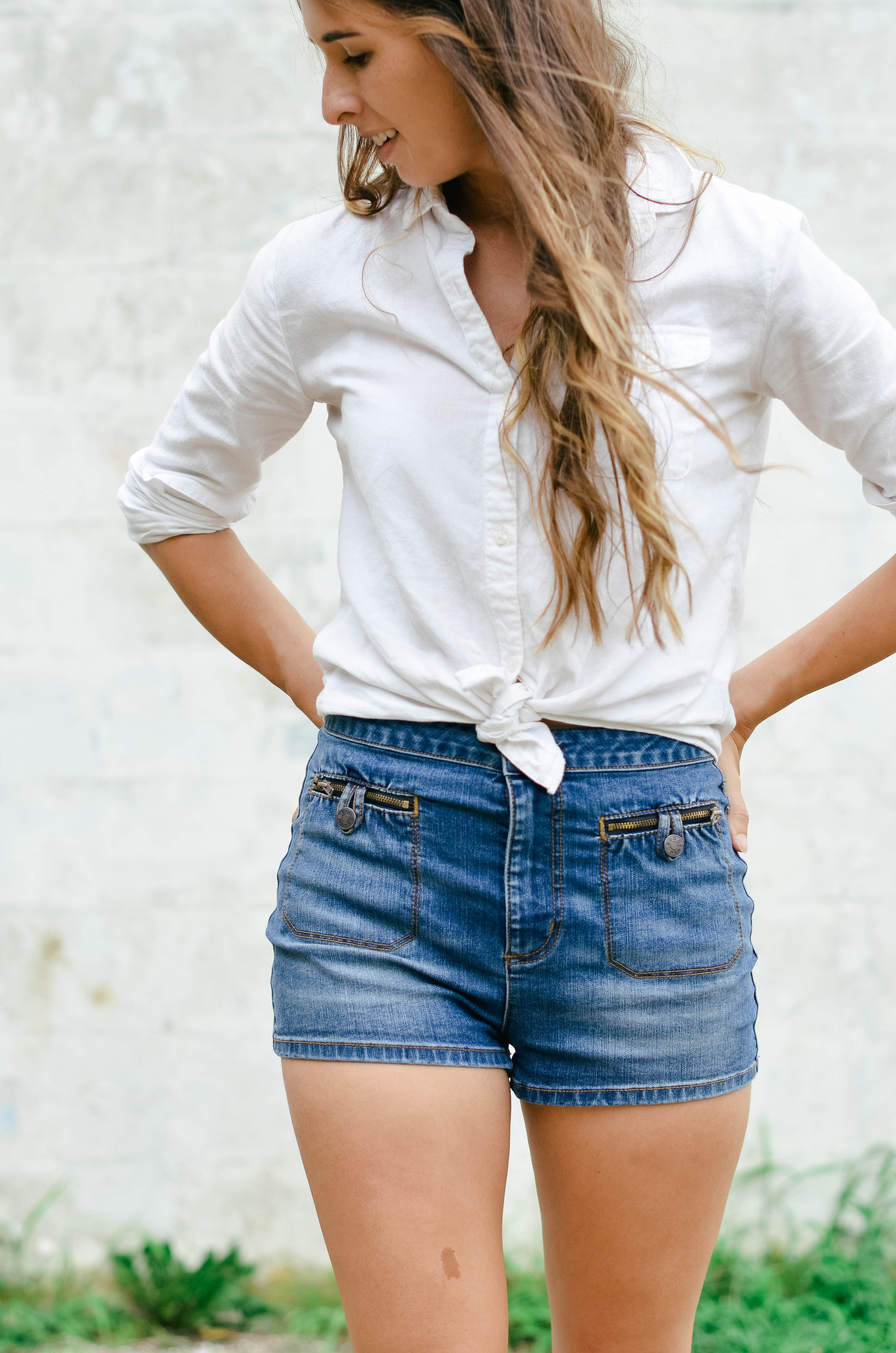 Summer High Rise Shorts Style