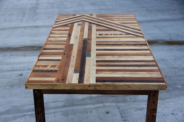 Table by Ariele Alasko via Fine and Feathered