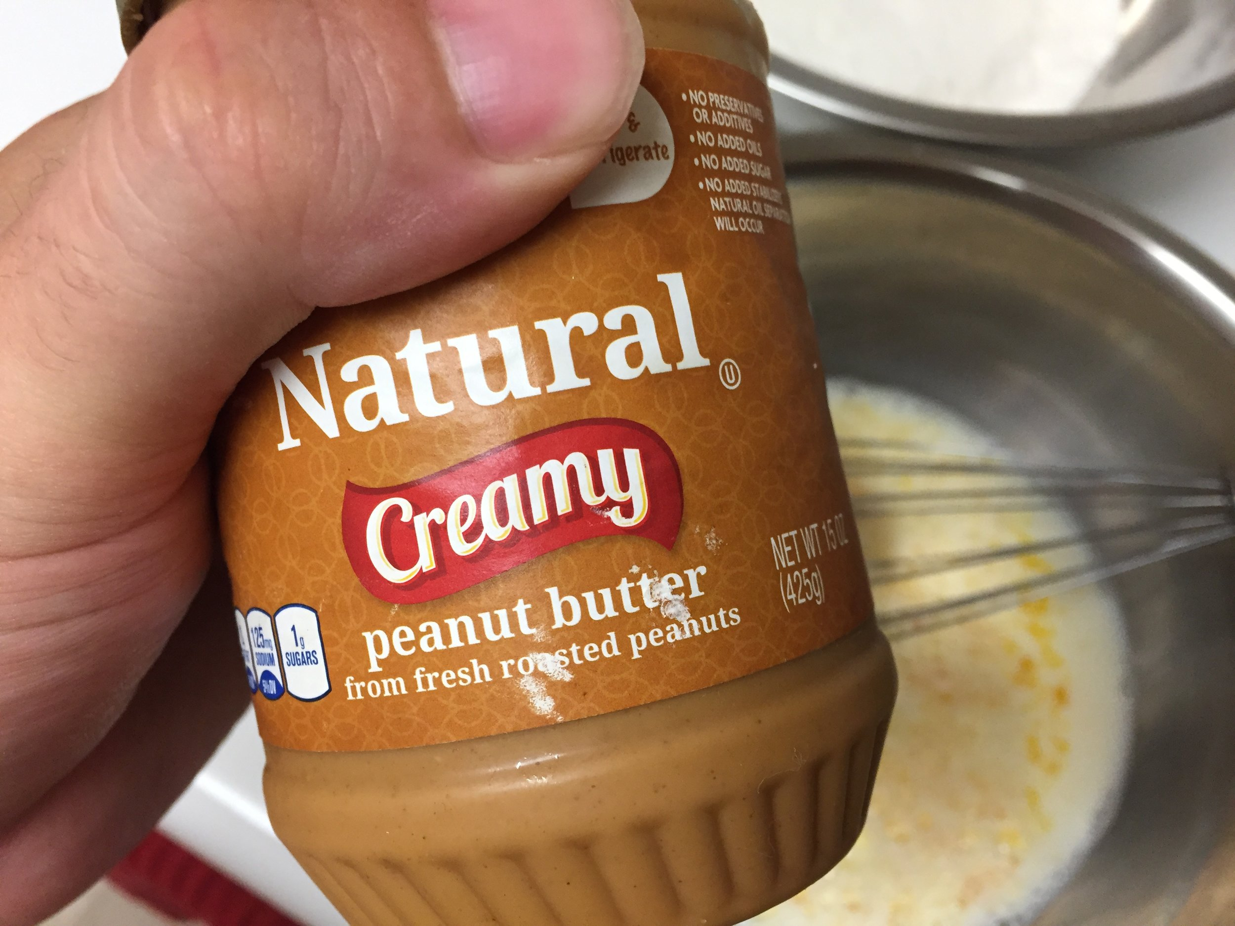 Only the finest peanut butter will do...