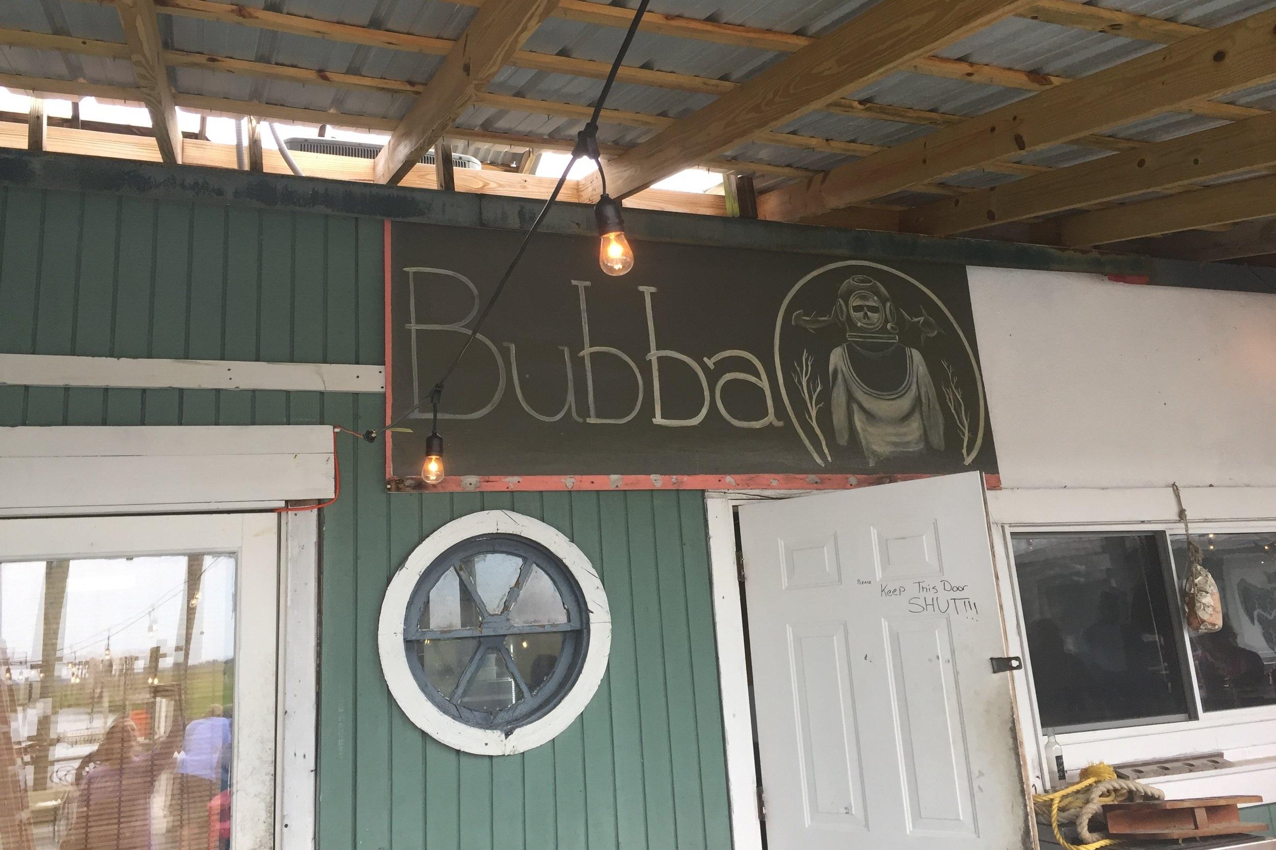 Soon, Bubba, soon.