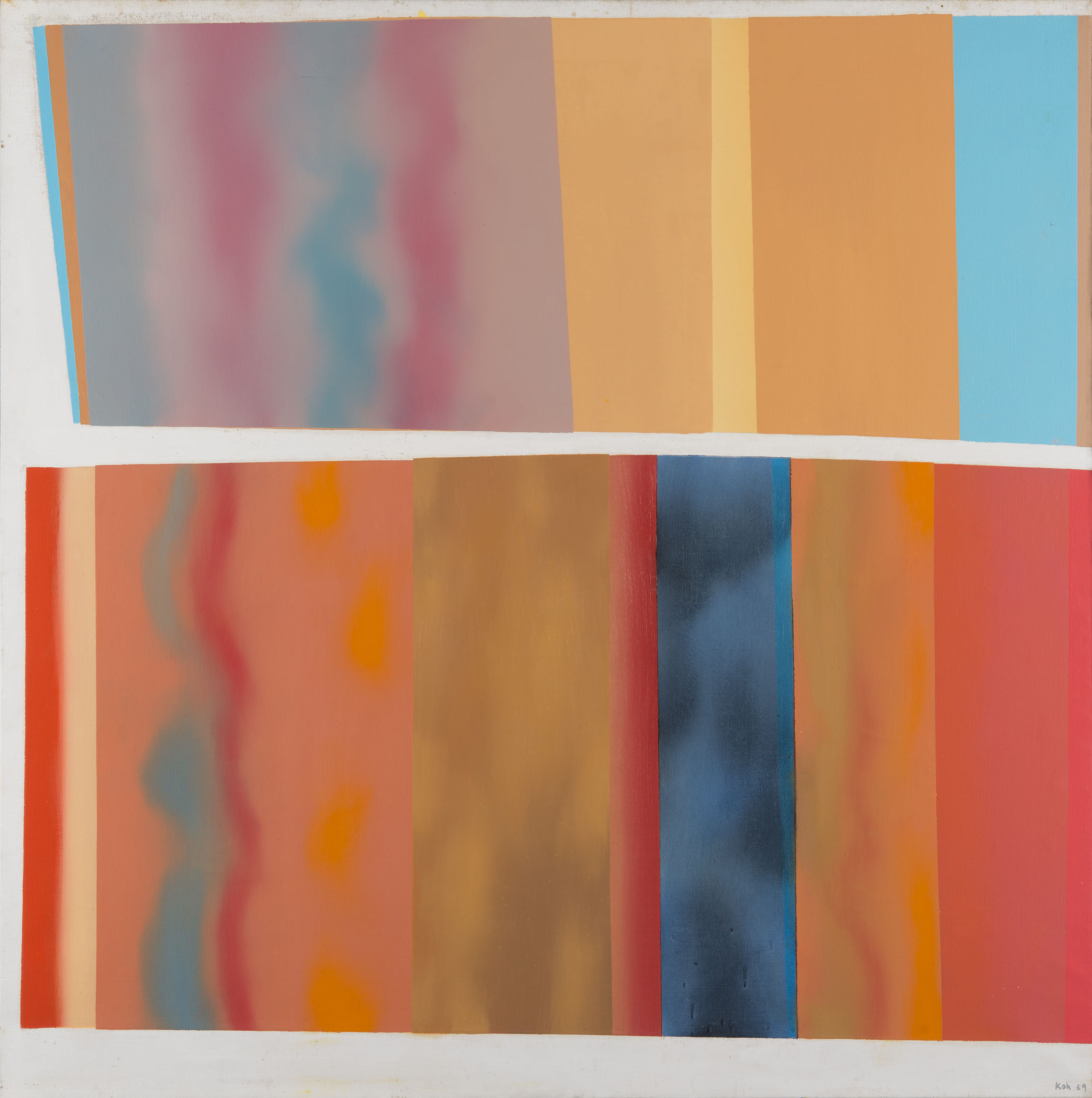 Wanda, II, 1969, Oil on Canvas, 109cm x 109cm