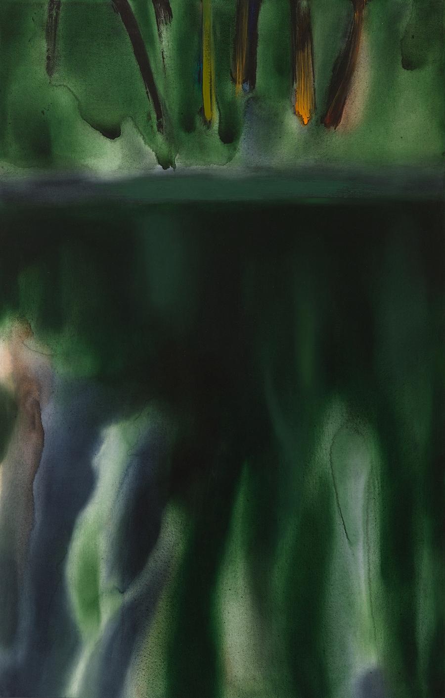 Green Reflection, II