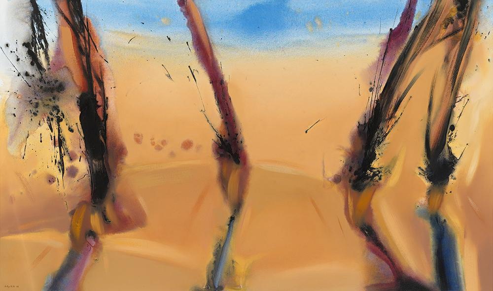 Yellow Reflection, III