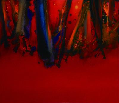 Red Landscape, III