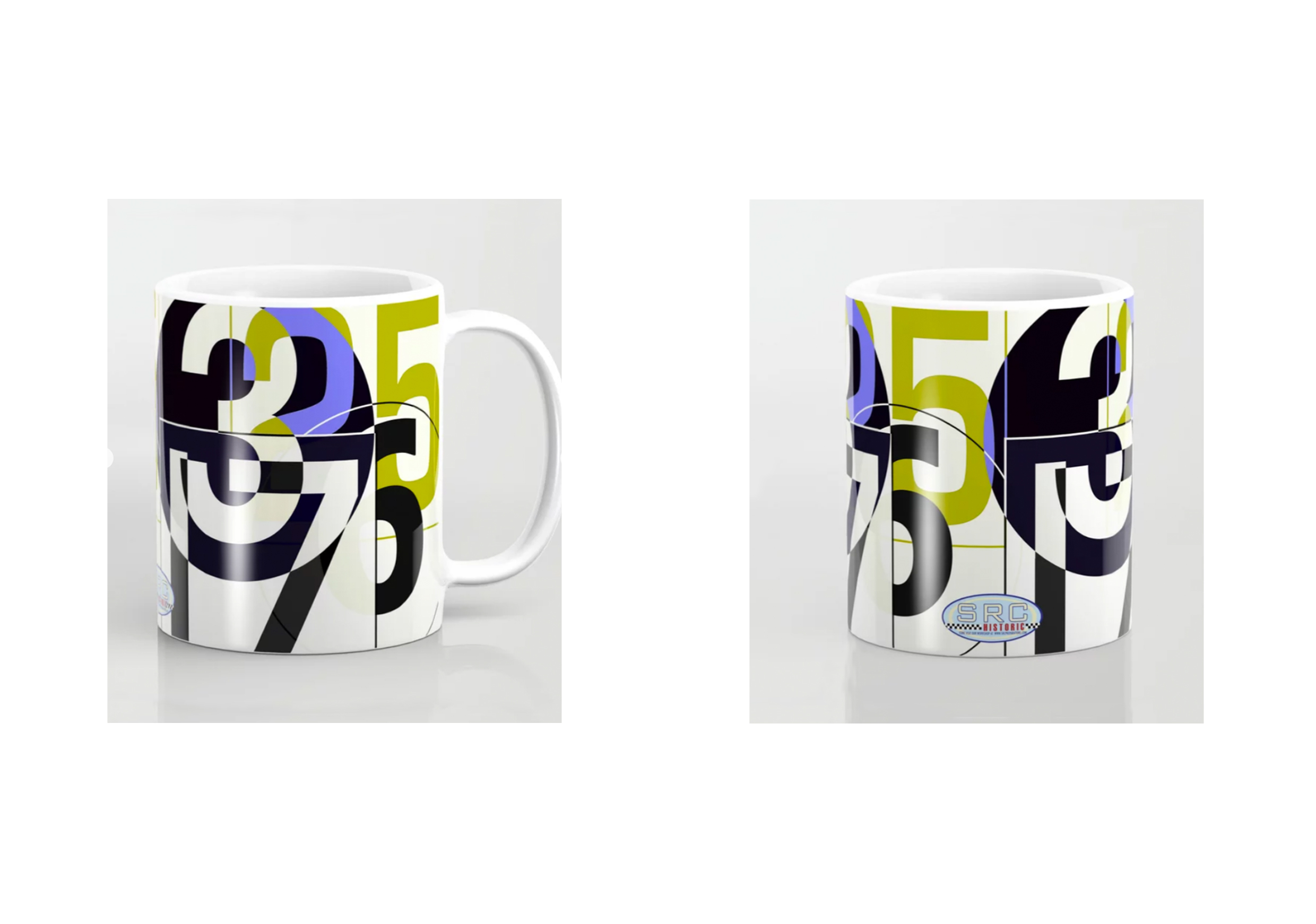 Mug: Race Numbers One