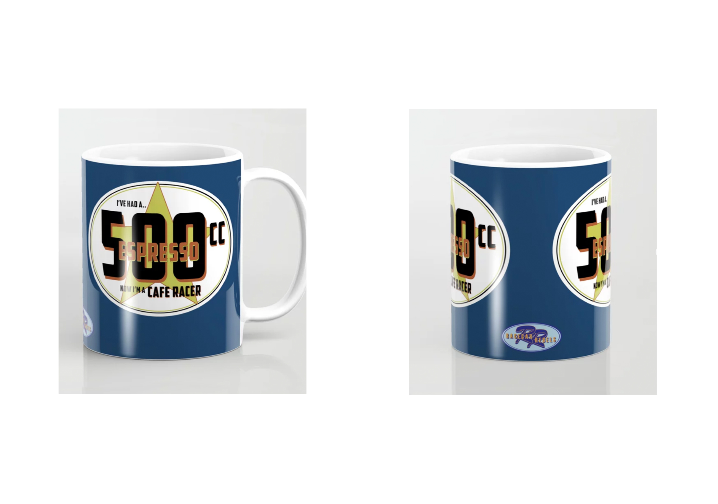 Racecar Rebels Mugs