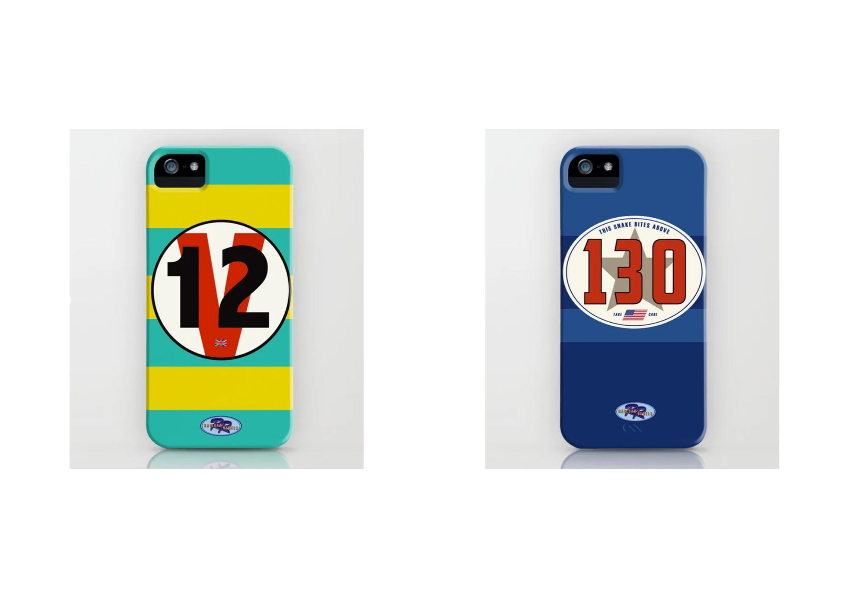 Racecar Rebels Phone Cases