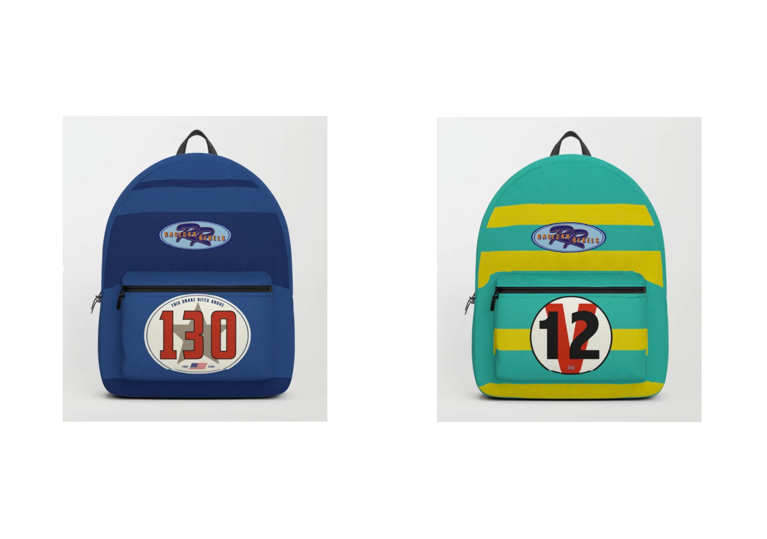 Racecar Rebels Backpacks