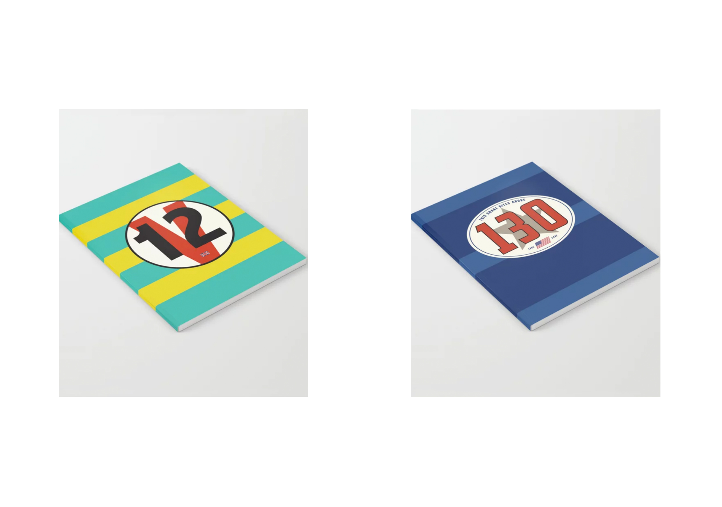 Racecar Rebels Notebooks