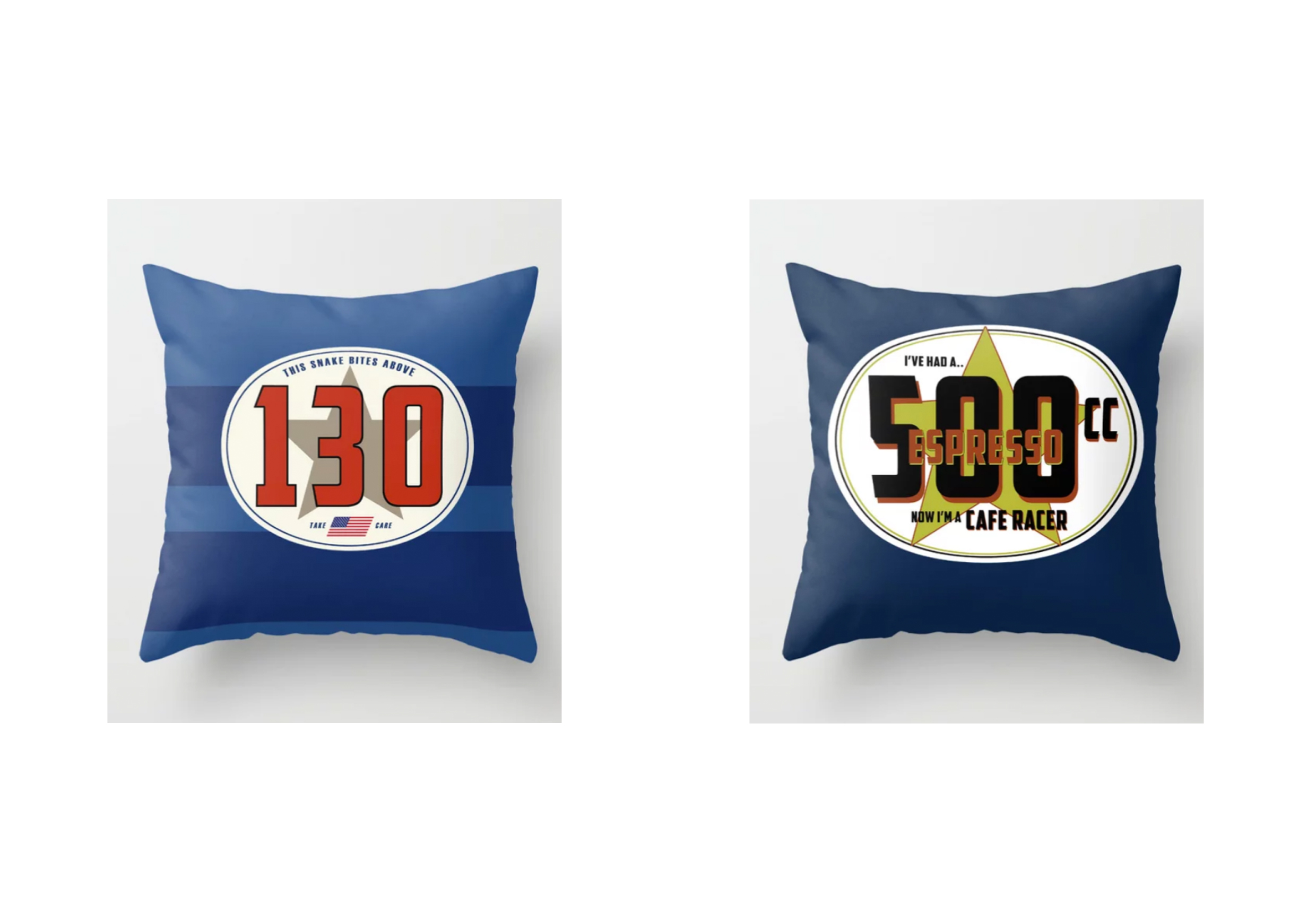 Racecar Rebels Cushions