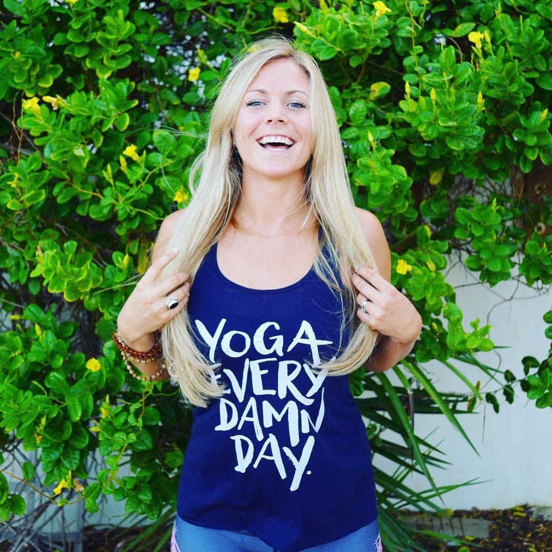 These two photos via Rachel Brathen on Instagram,  @yoga_girl .