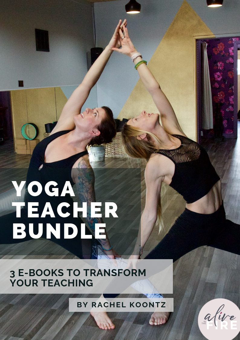 E-Books for New Yoga Teachers - Over 40 pages of helpful ideas to launch your yoga teaching career!