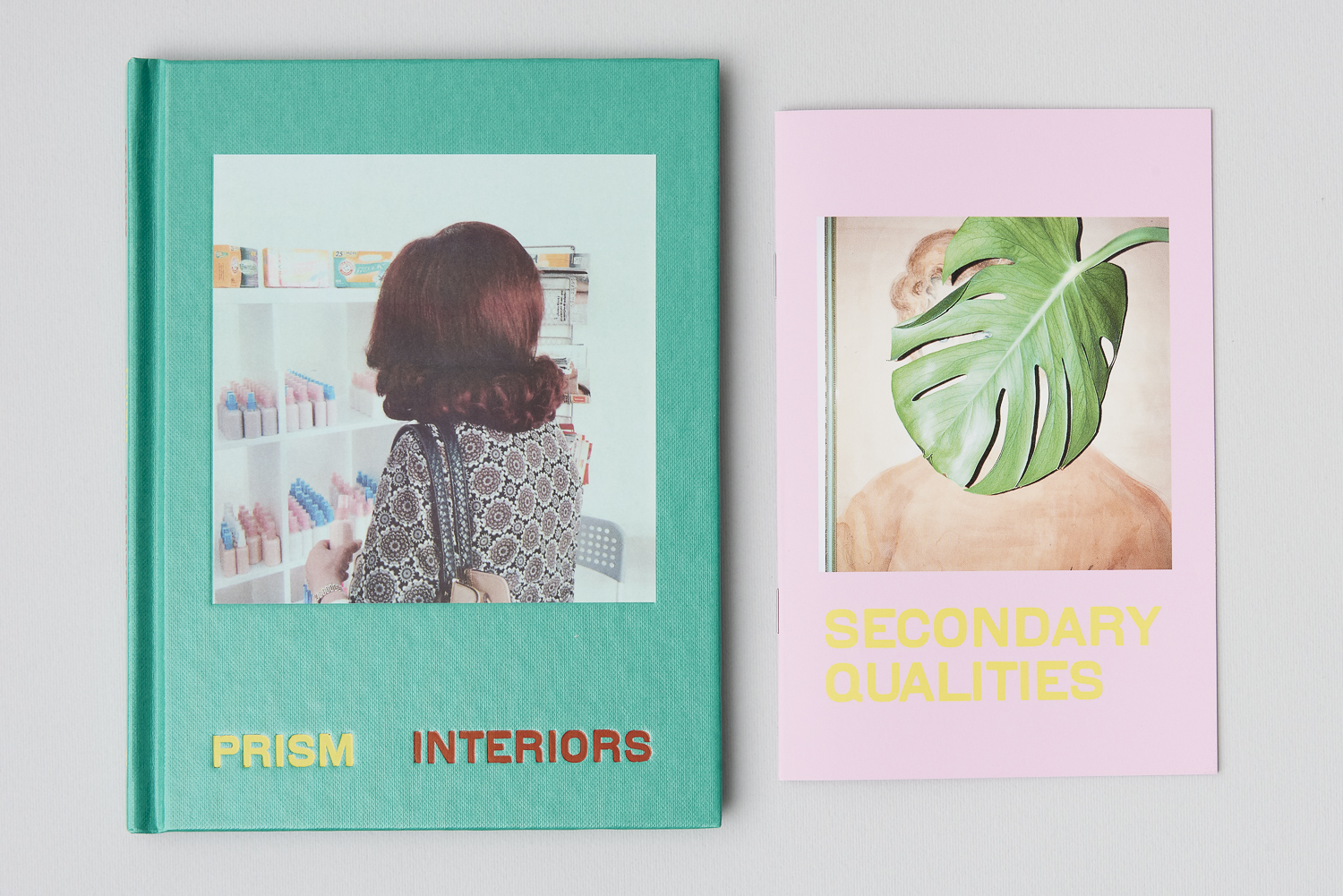 Cover of PRISM INTERIORS plus the pink b-side insert.