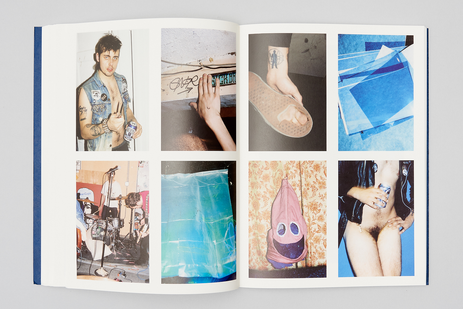 A spread from YOUR BLUES by Michael Schmelling
