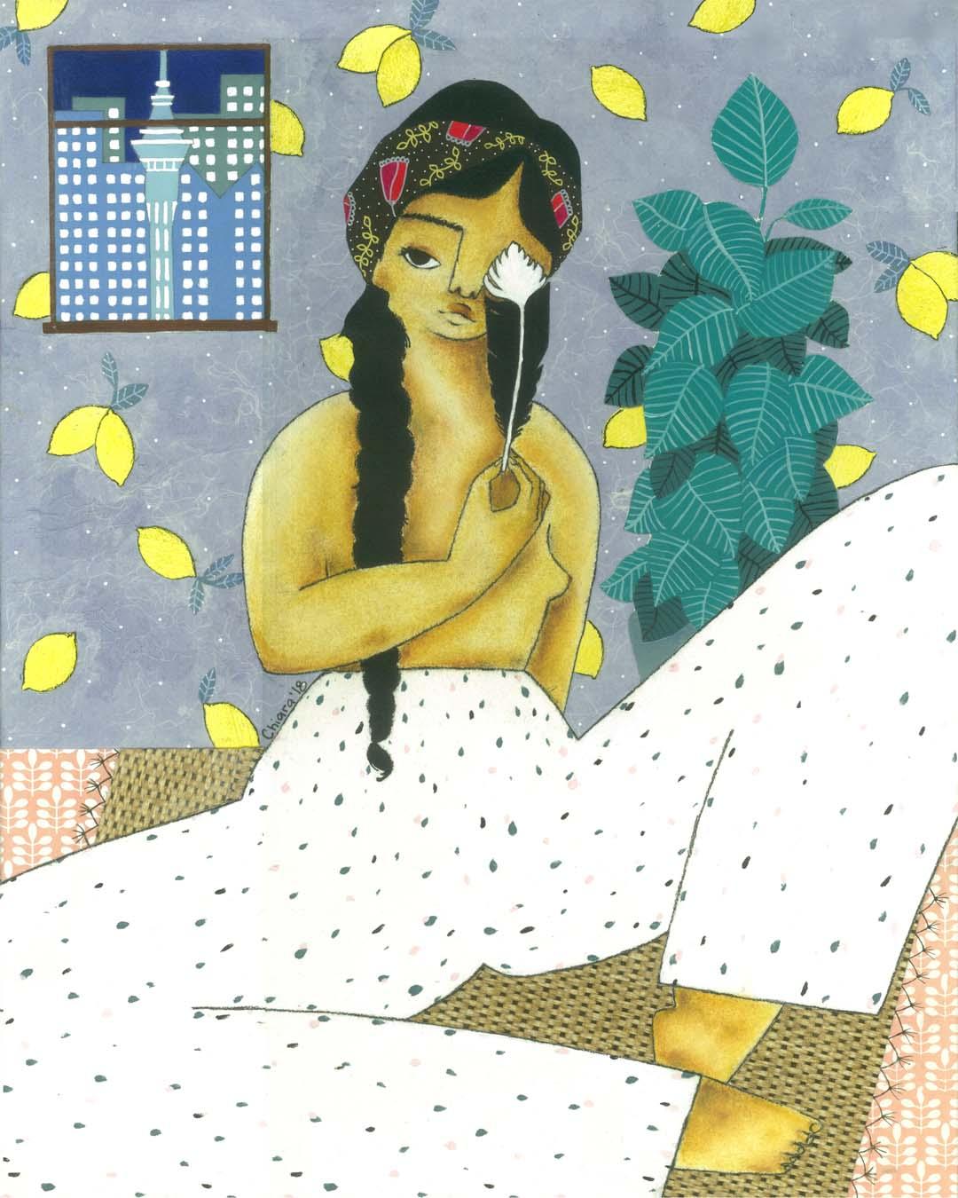 Huia Girl by Chiara Art Illustration.jpg