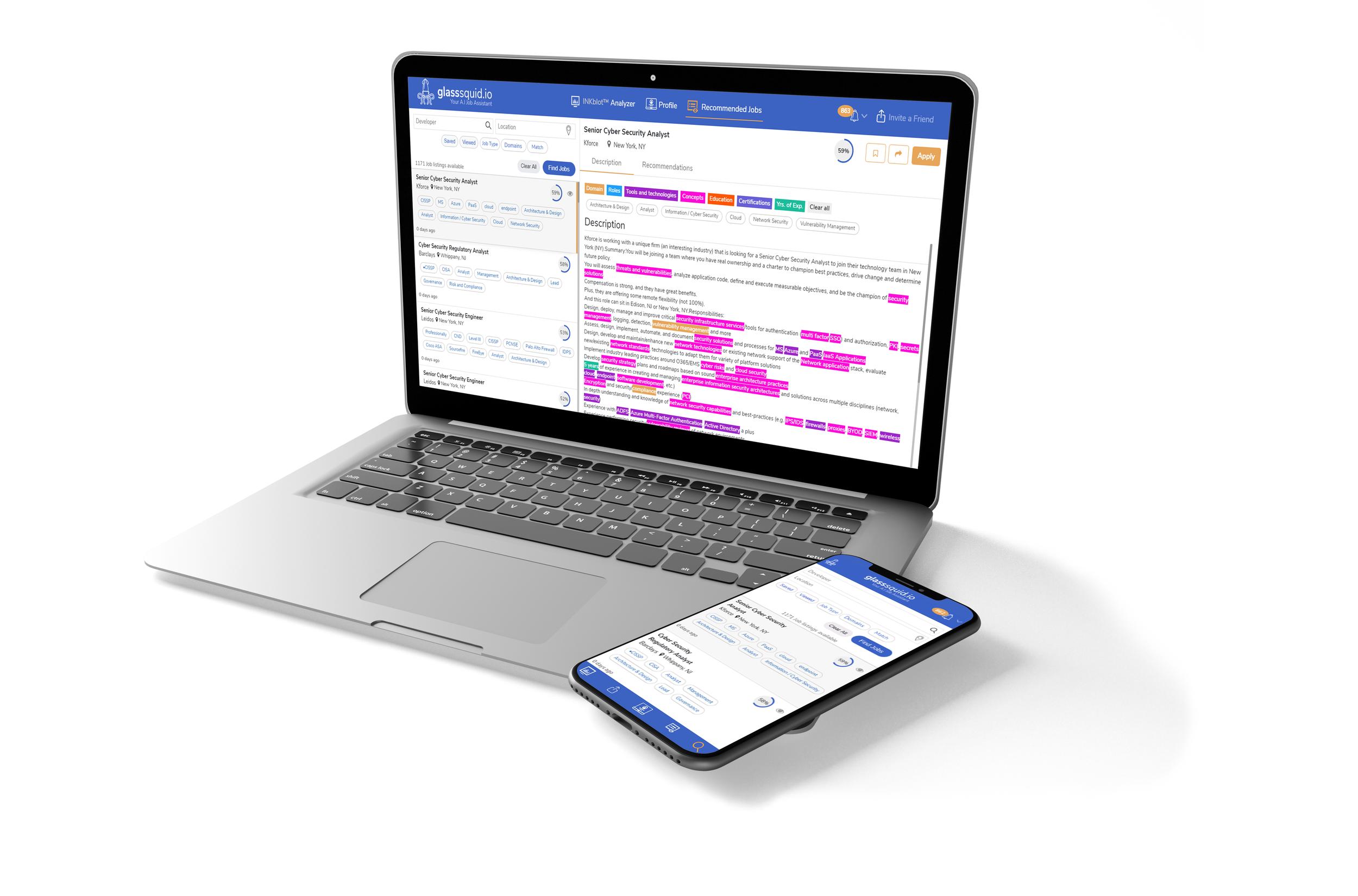 INKblot™ Analyzer - Simplify Your Cyber Security Job Search