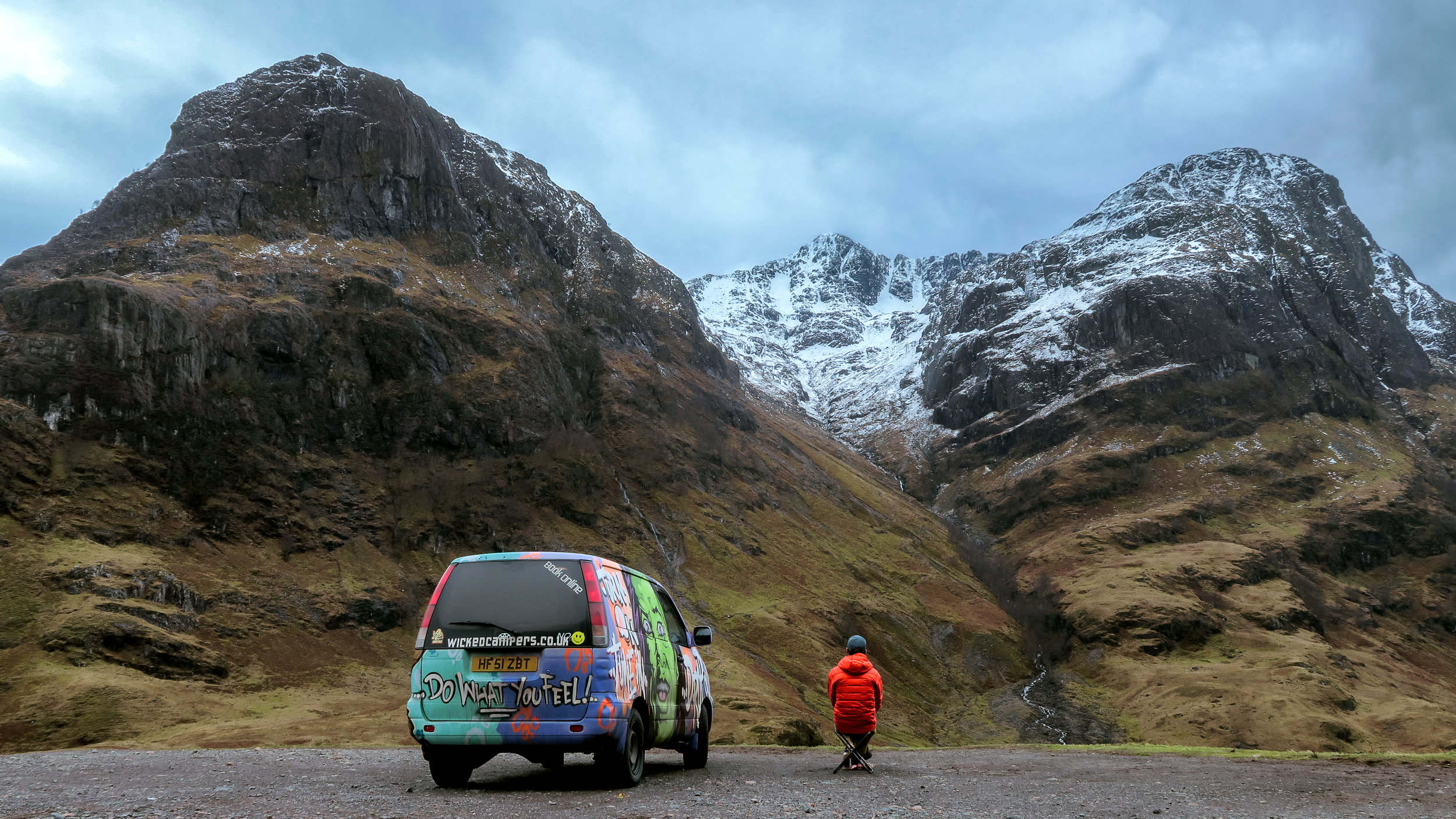 Wicked Camper Van Scotland