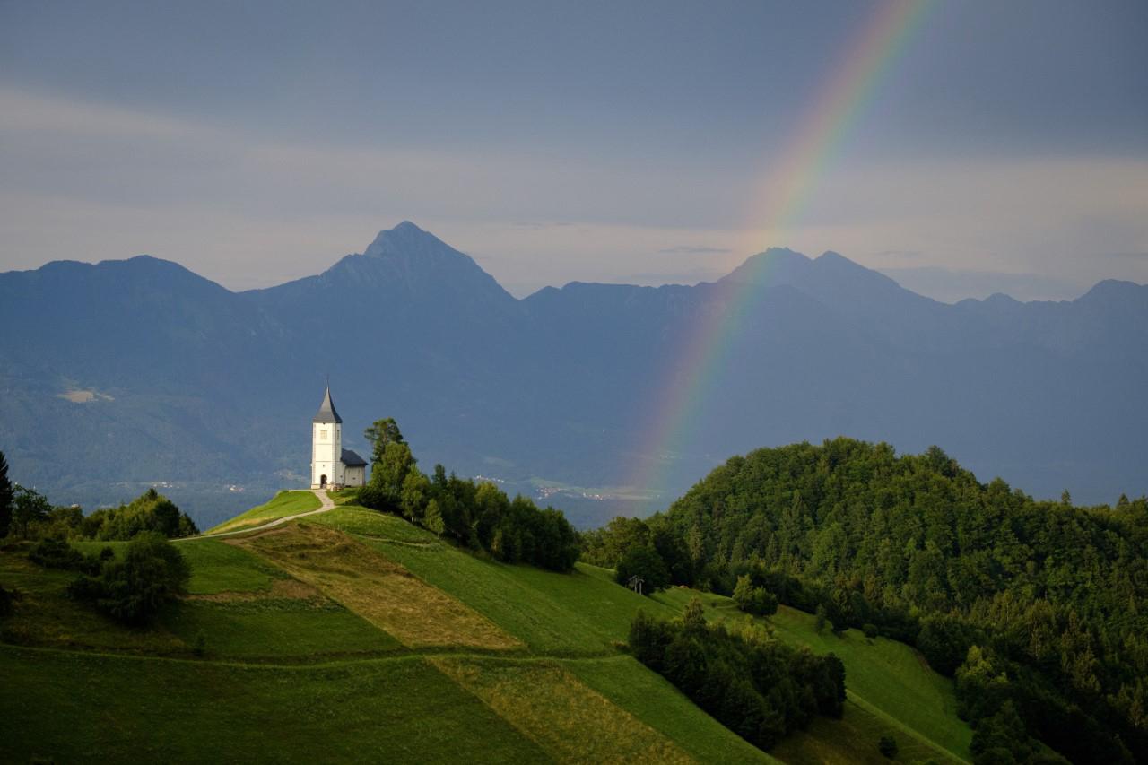 Photo:  Fujifilm X-T2 & Fujinon XC50-230mm Lens - Jamnik Church, Slovenia  Credit:  Maurice Van Den Boogard