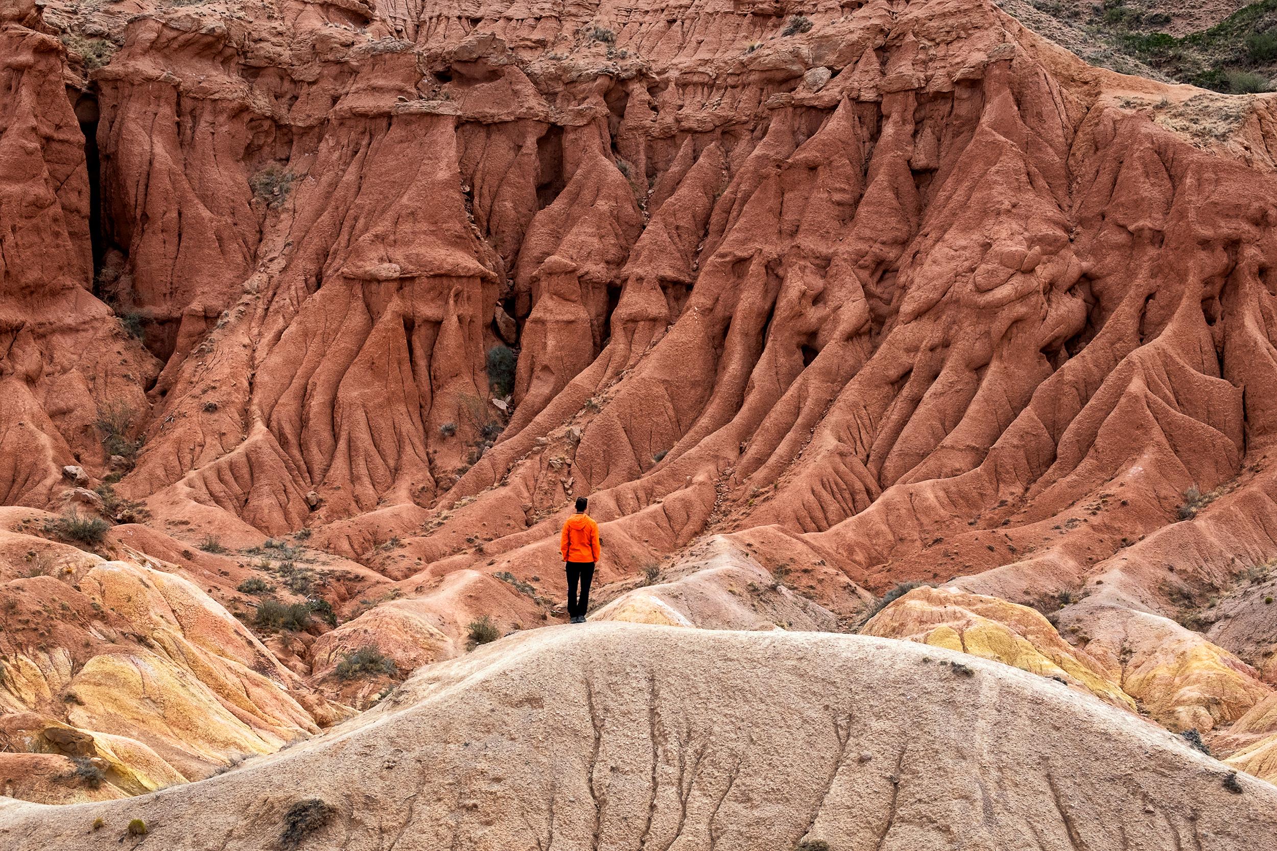 Photo:  Fujifilm X-T3 & Fujinon XF55-200mm Lens - Fairytale Canyon, Kyrgyzstan