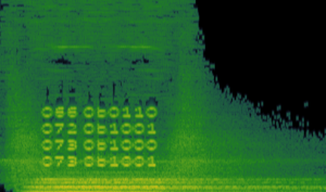 A code from the recent ARG Fortnite did, hidden in an audio file.