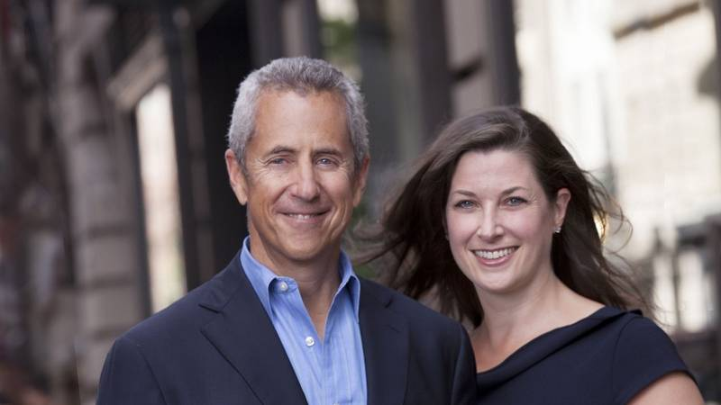 Danny Meyer and Susan Reilly Salgado