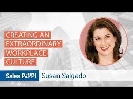 Leadership speaker and Customer Service expert Susan Salgado is good for business.