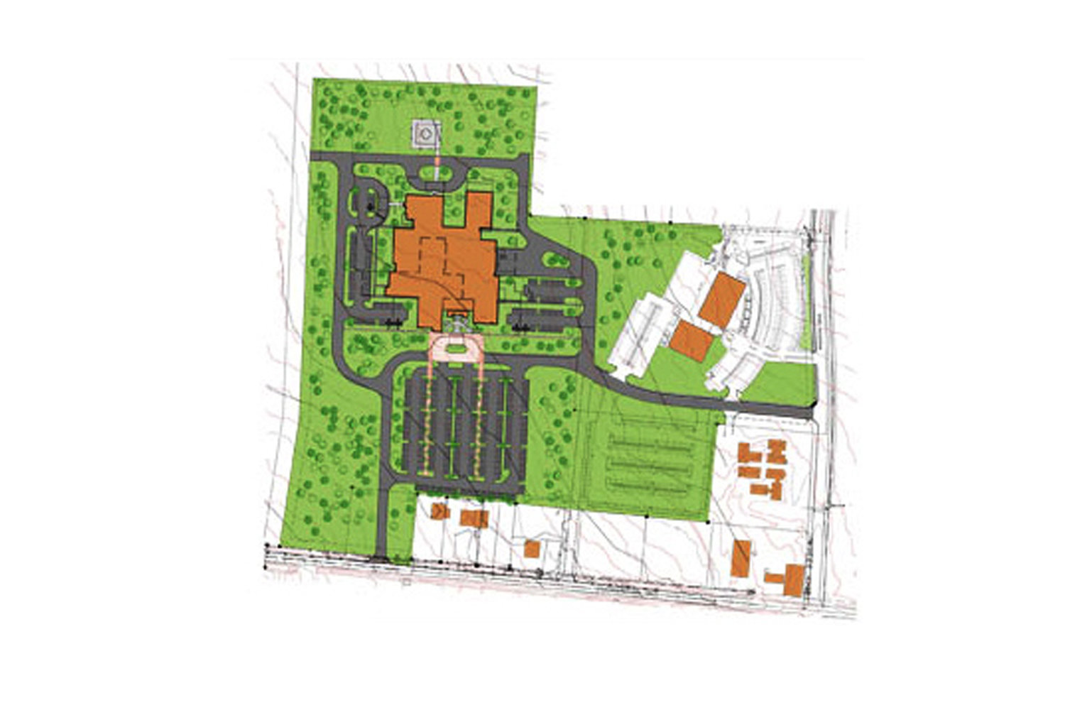 Yavapai Regional Medical Center East Campus Master Plan — Tucson, on new mexico state university campus map, south mountain campus map, brevard campus map, broward campus map, solano campus map, garfield campus map, sonoma campus map, polk campus map, pueblo campus map, taylor campus map, glendale campus map, fresno campus map, santa barbara city college campus map, alameda campus map, madera campus map, nassau campus map, montgomery campus map, eastern washington campus map, franklin campus map, macon campus map,