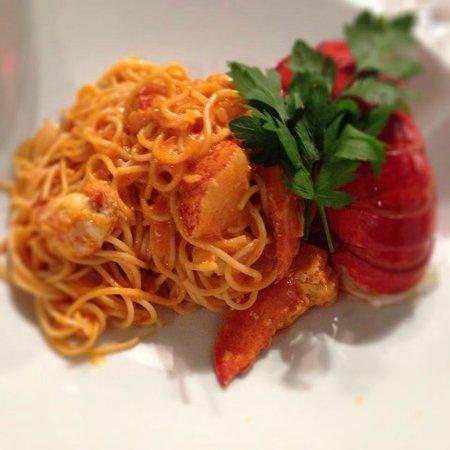 Lobster Pasta @ Milos