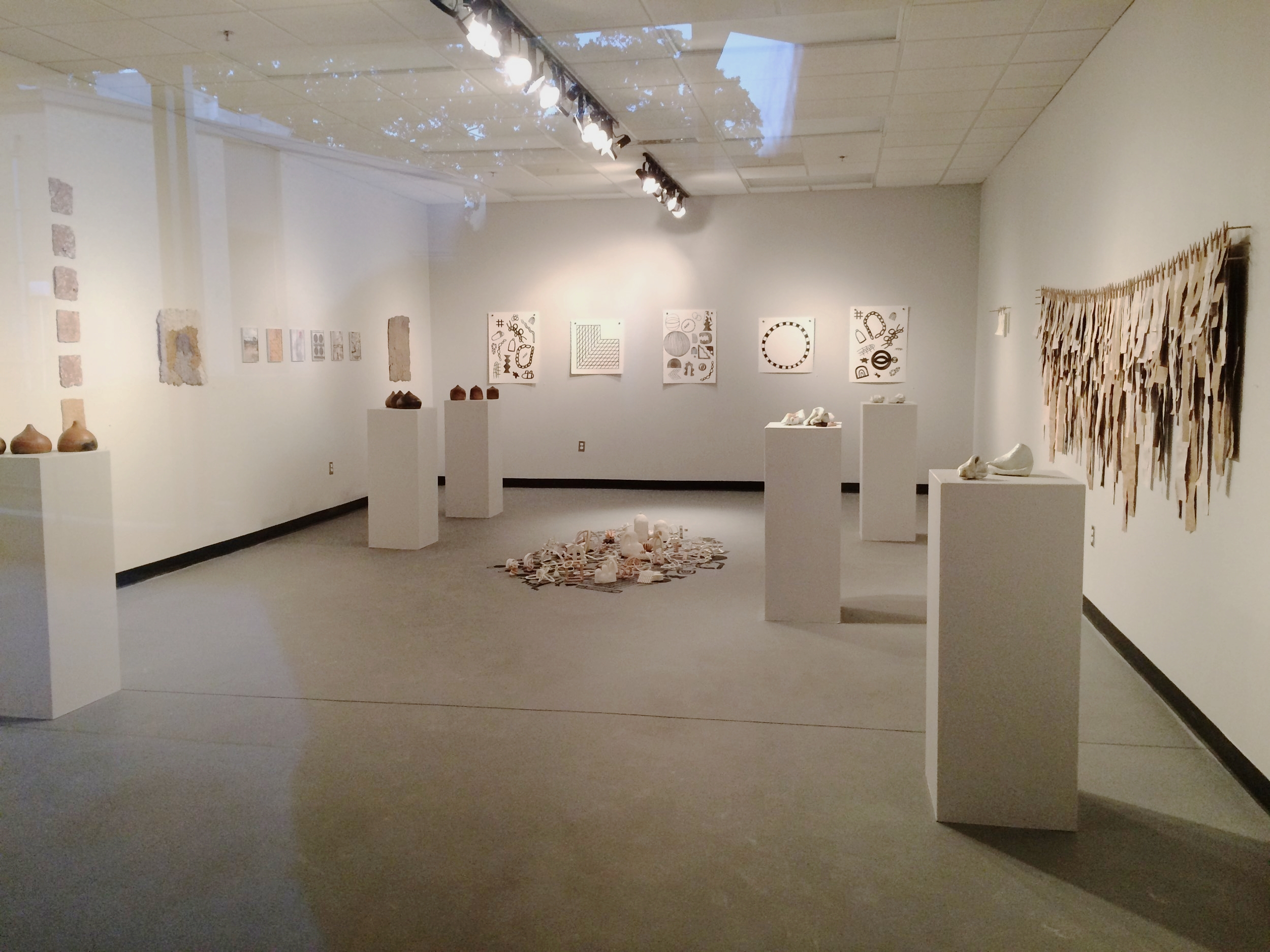 2016 November, Documented Connections, with Jessica Sanders and Jerid Watson, FAC gallery,UT Tyler, TX