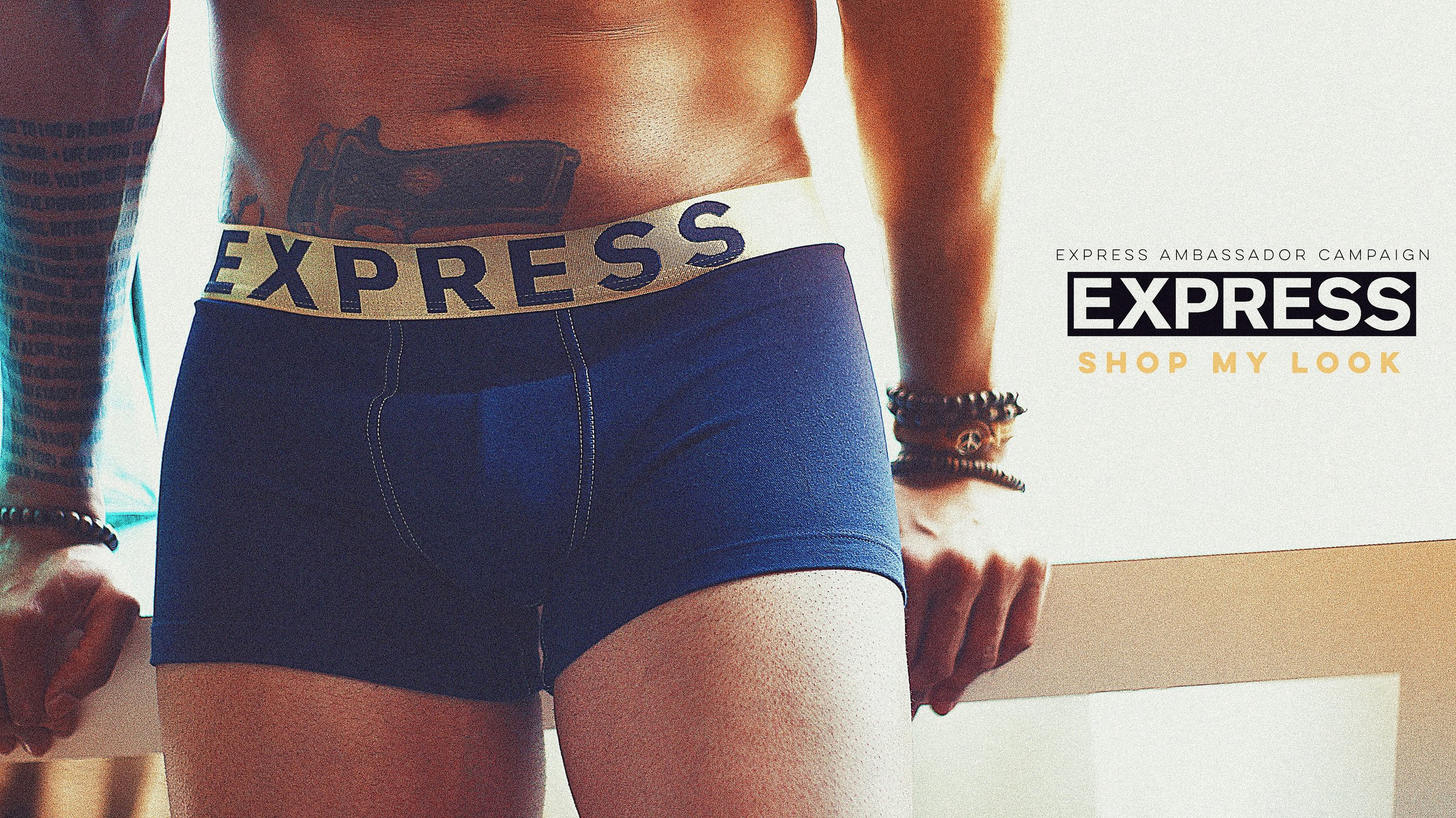 @JustChambers Photographed by Augustus for Express