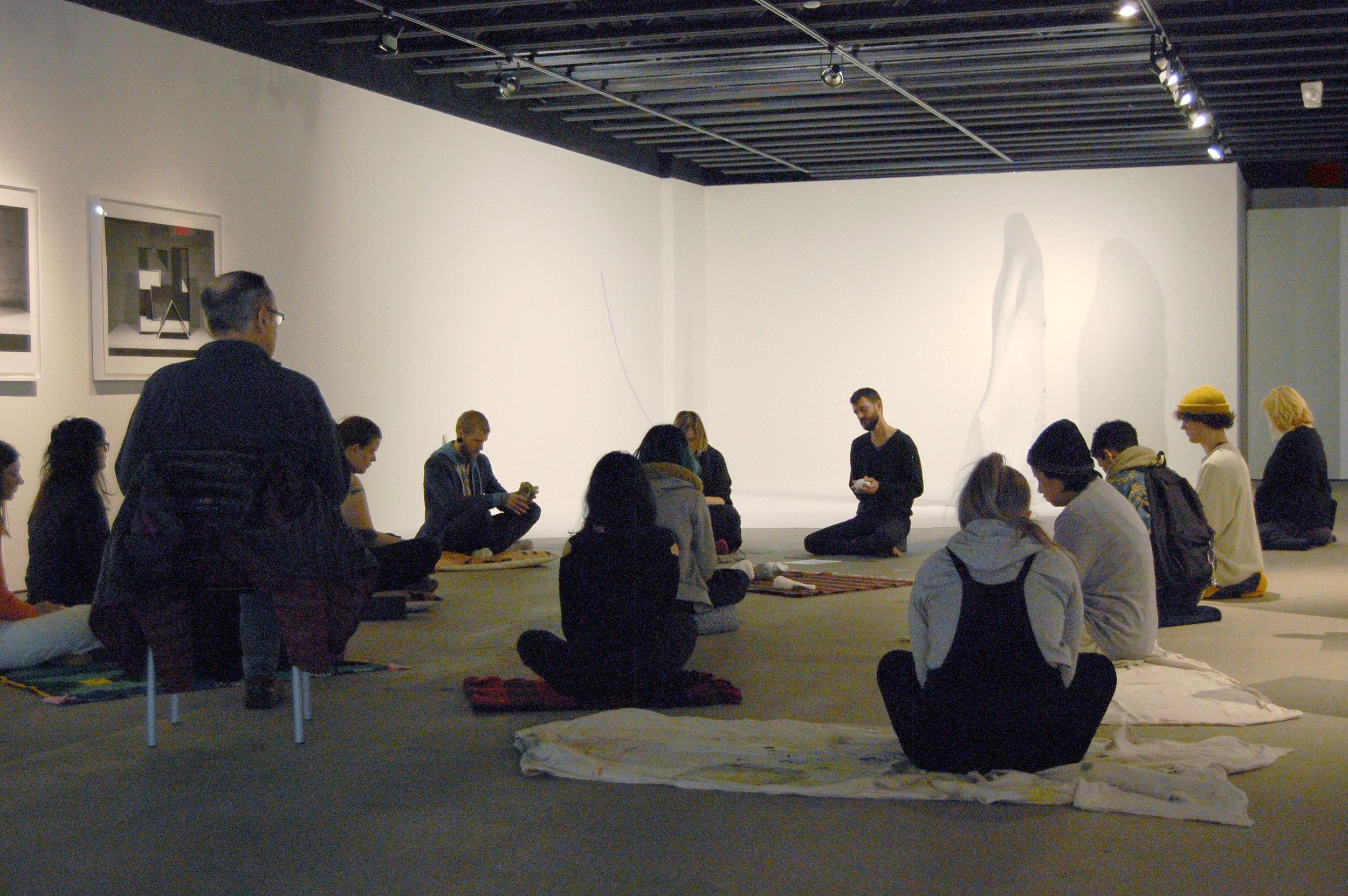 Meditation for  Casting Shadows: 2017 Kansas City Art Institute Biennial , H&R Block Artspace, Nov 2017
