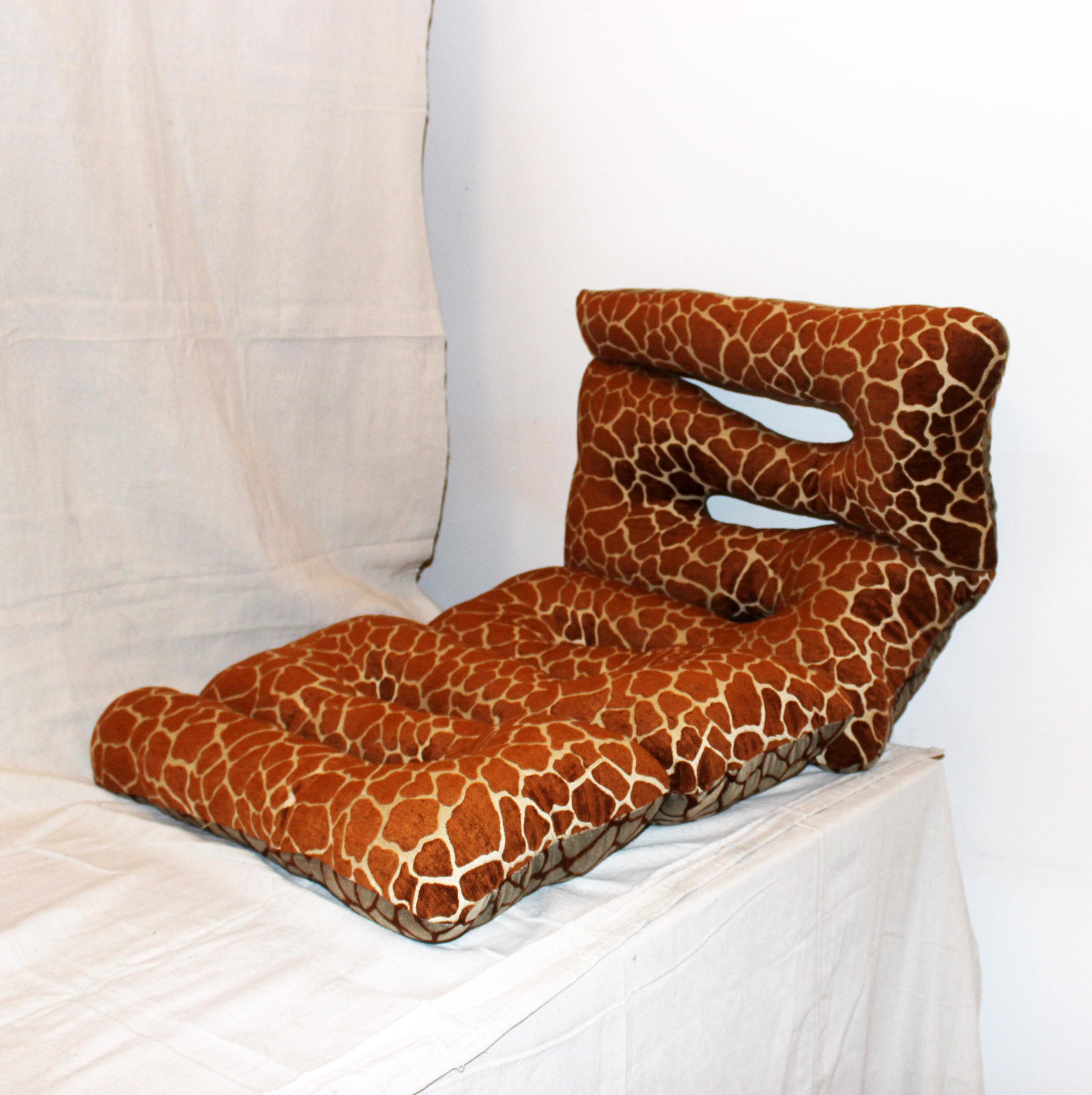 Giraffe Fetish Squiggle Pillow RG.JPG