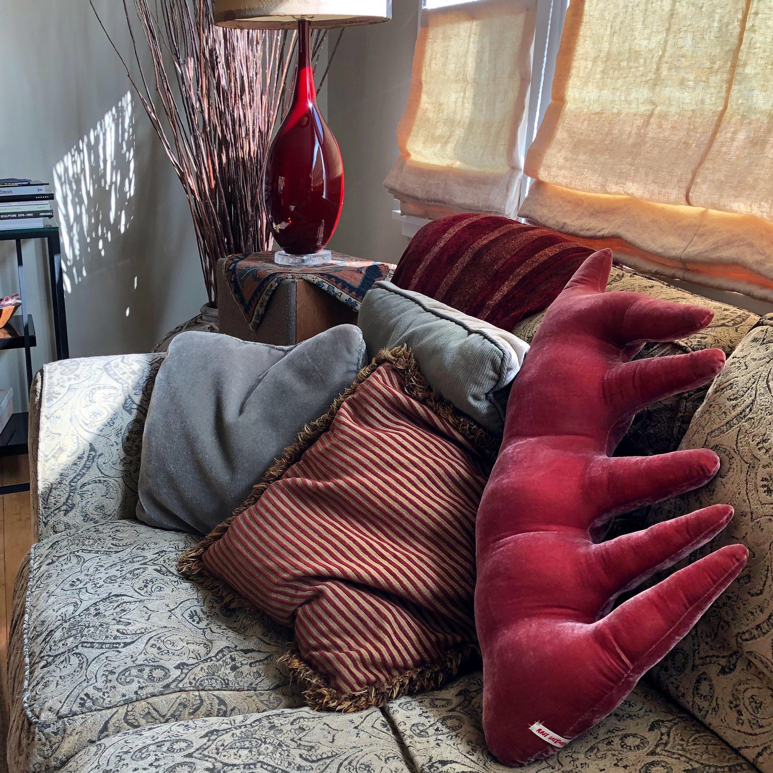 MN Red Spiky Velvet Pillow RG.jpg