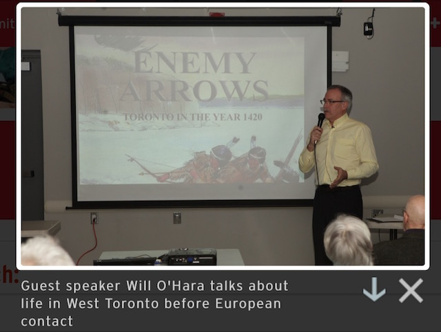 Author Will O'Hara presents his book Enemy Arrows to the Swansea Historical Society